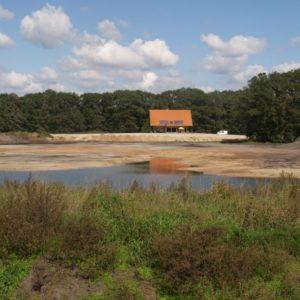 De aanleg in 2010.