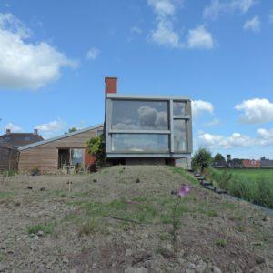 Aanleg particuliere tuin in Groningen