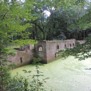 ruine van het kasteel