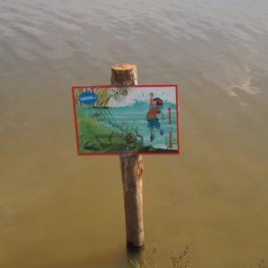 voorzichtig, hier is het water dieper!