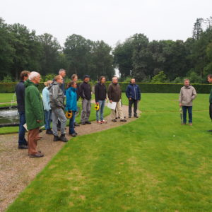 Historische groen in theorie en praktijk, op Huis Bergh